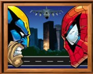 Sort my tiles Spider and Wolverine online