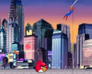 Spiderman save Angry Birds online p�kember j�t�k